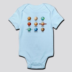 Planets Of The Solar System Body Suit