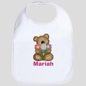Mariah's Bouquet Bear Bib
