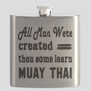 Some Learn Muay Thai Flask