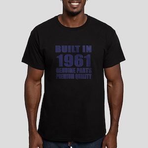 Built In 1961 Men's Fitted T-Shirt (dark)