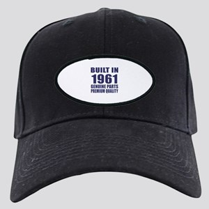 Built In 1961 Black Cap