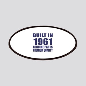 Built In 1961 Patch