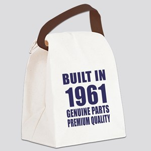 Built In 1961 Canvas Lunch Bag