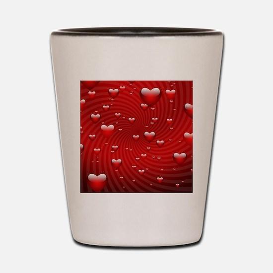 Cool Always my heart Shot Glass