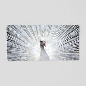 Peacock20160401 Aluminum License Plate