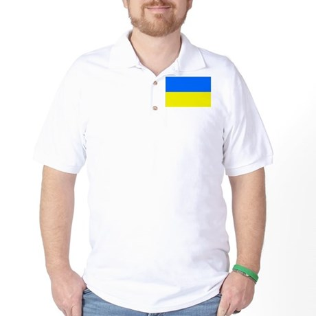 Ukraine Golf Shirt