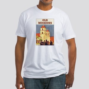 Santa Barbara California Fitted T-Shirt