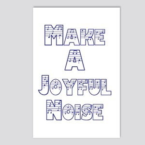 joyful noise Postcards (Package of 8)