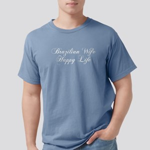 Brazilian Wife Happy Life Women's Dark T-Shirt