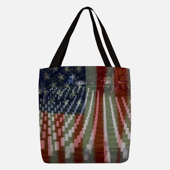 Patriotism Polyester Tote Bag