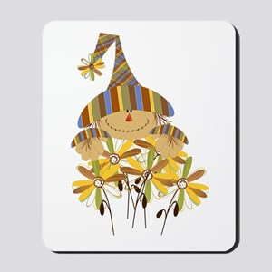 Scarecrow Garden Mousepad