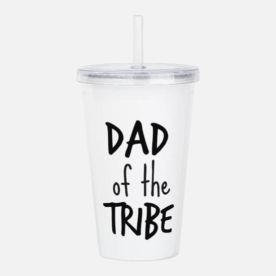 Dad of the Tribe Acrylic Double-wall Tumbler