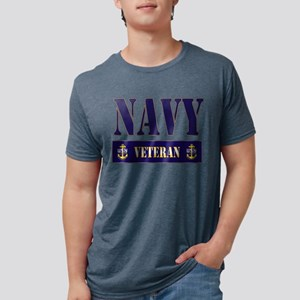 Navy Veteran Block T-Shirt
