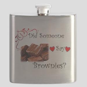 Did Someone Say Brownie? Flask