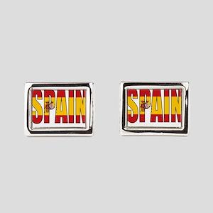 Spain Rectangular Cufflinks