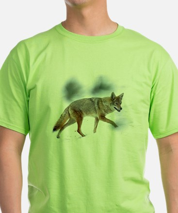 Coyote  T-Shirt - front & Joshua Tree back