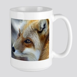 Red fox Large Mug - red fox
