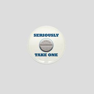 Take A Chill Pill Mini Button