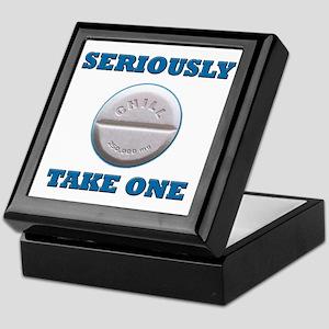 Take A Chill Pill Keepsake Box
