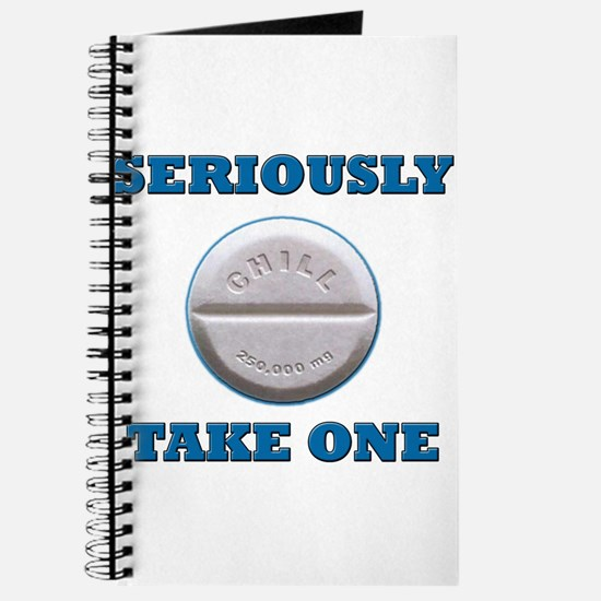 Take A Chill Pill Journal