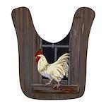 Rooster in the Window Bib