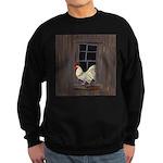Rooster in the Window Sweatshirt