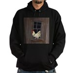 Rooster in the Window Hoodie