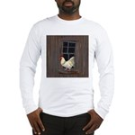 Rooster in the Window Long Sleeve T-Shirt