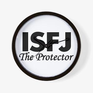 ISFJ | The Protector Wall Clock