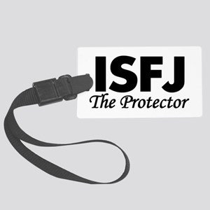 ISFJ | The Protector Large Luggage Tag