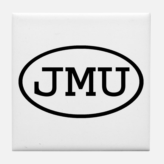 JMU Oval Tile Coaster