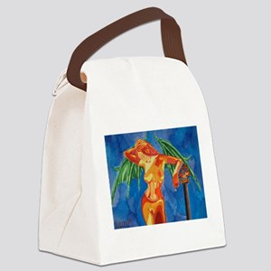 Lillith Canvas Lunch Bag