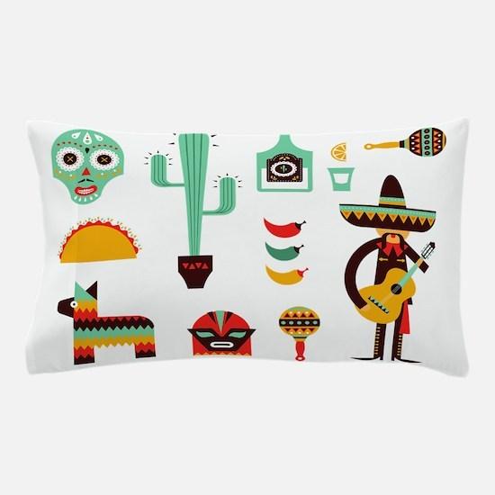 mexican Pillow Case