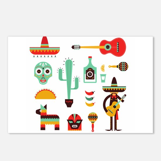 mexican Postcards (Package of 8)