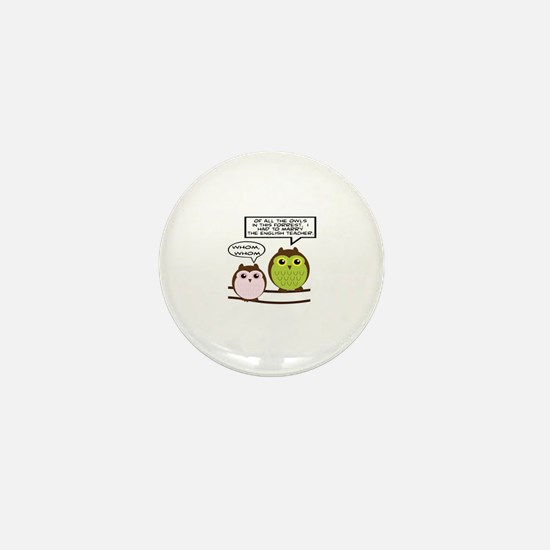 Cute Forrest Mini Button