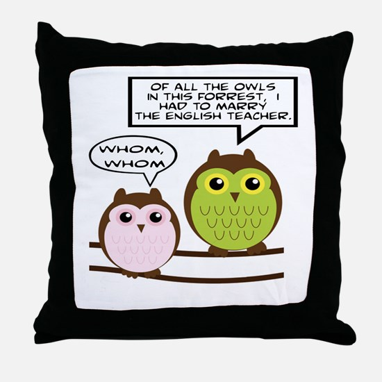 Cool Marry Throw Pillow