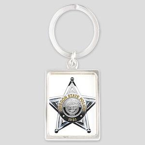 Oregon State Police Keychains