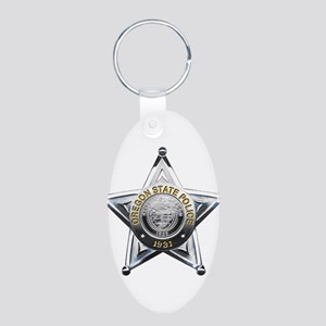 Oregon State Police Keychains