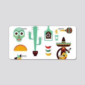 mexican Aluminum License Plate