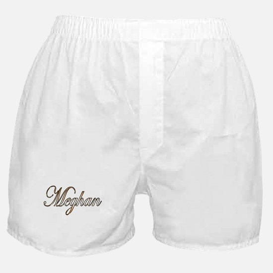 Gold Meghan Boxer Shorts