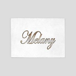Gold Melany 5'x7'Area Rug