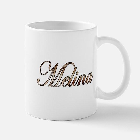 Gold Melina Mugs