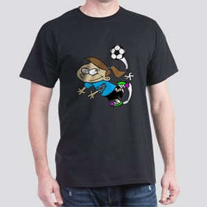 SOCCER GIRL AUTISM RIBBON T-Shirt