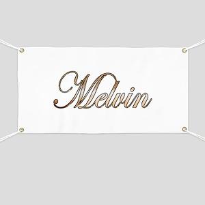 Gold Melvin Banner
