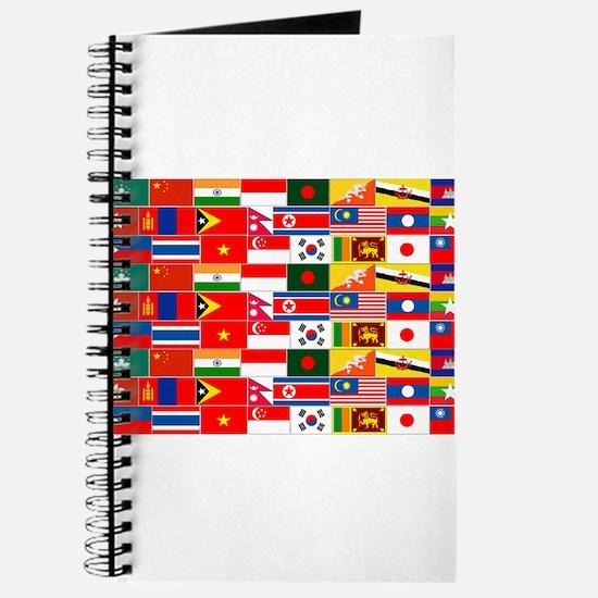 Asian Flags Journal