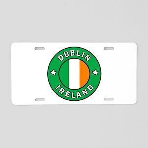 Dublin Ireland Aluminum License Plate