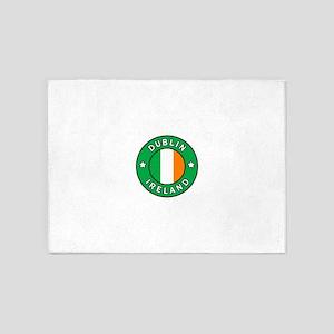 Dublin Ireland 5'x7'Area Rug