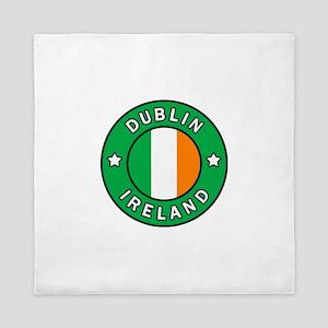 Dublin Ireland Queen Duvet