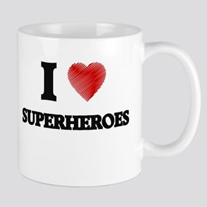 I love Superheroes Mugs