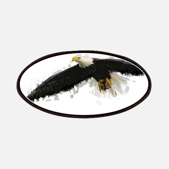 Watercolor Soaring Eagle Patch